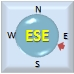 Wind from ESE